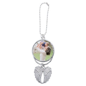 Personalized Patriotic Eagle Wings Ornament