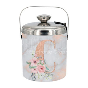 1300 ml Sublimation Stainless Steel Ice Bucket