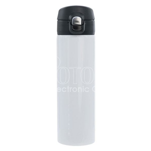 16 oz. Stainless Steel Vacuum Insulated Water Bottle with Flip-Top Lid