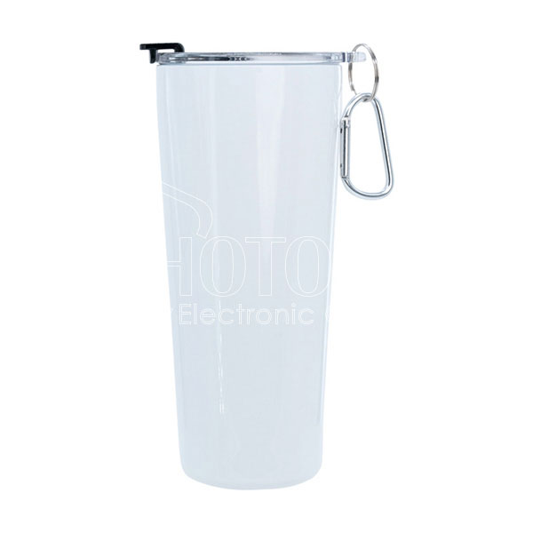 30 oz. Stainless Steel Tumbler with Carabiner Handle