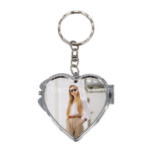 Sublimation Keychain Makeup Mirror