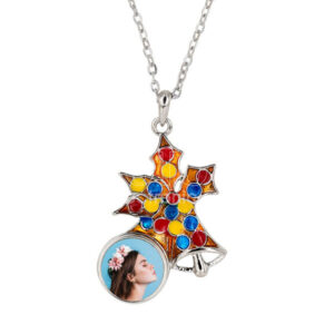Sublimation Christmas Snap Button Necklace