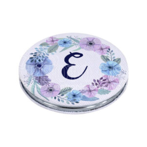 Sublimation Fabric Covered Compact Mirror