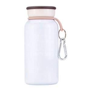 400 ml Sublimation Stainless Steel Vacuum Insulated Milk Bottle with Clasp Handle