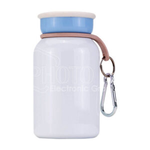 300 ml Sublimation Stainless Steel Vacuum Insulated Milk Bottle with Clasp Handle