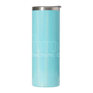 20 oz. Sublimation Pearl Paint Stainless Steel Skinny Tumbler with Lid
