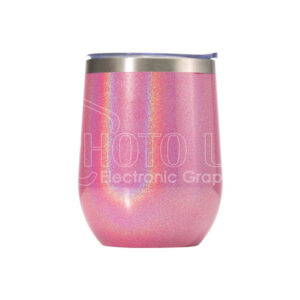 12 oz. Sublimation Pearl Paint Stainless Steel Stemless Wine Cup